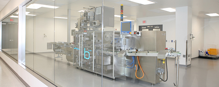 Experic cGMP Contract Manufacturing Facility